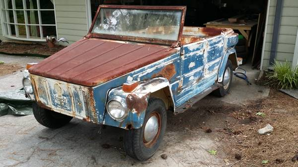 1973 Vw Thing Manual Gas For Sale In Nashville Tennessee