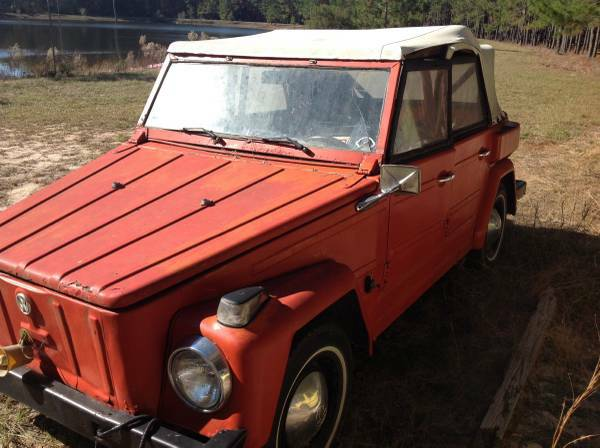 1974 VW Thing Gas Fuel For Sale in Daytona Beach, Florida ...