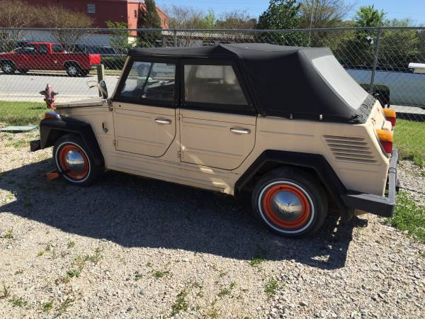 1973 VW Thing Manual For Sale in Raleigh, North Carolina ...
