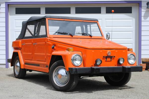 1974 VW Thing Fully Refurbished For Sale in Prescott ...