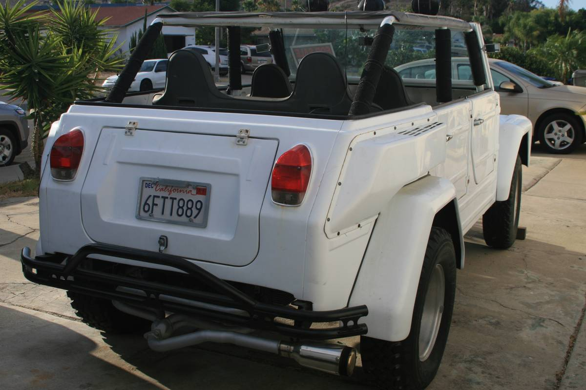 1973 VW Thing 1600 V4 Manual For Sale in Santee, California