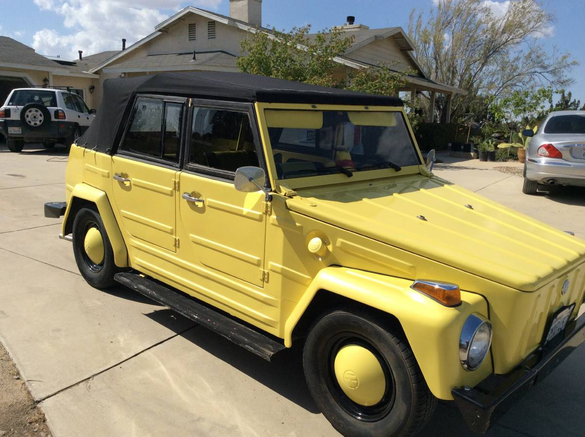 1974 VW Thing 1600cc Manual For Sale in Palmdale ...