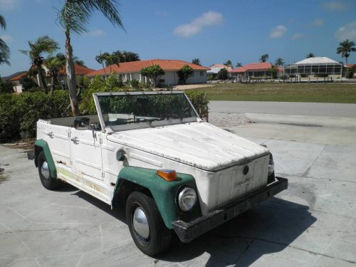 1973 VW Thing Convertible V4 Manual For Sale in Naples ...