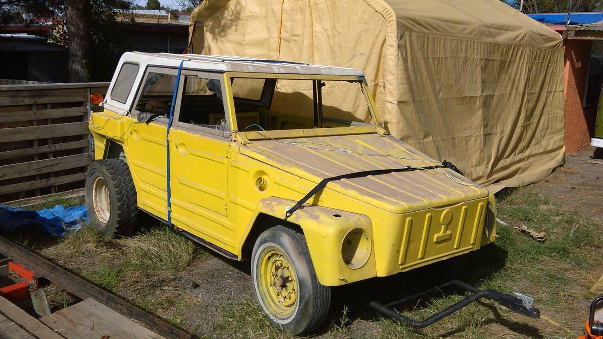 1974 Vw Thing Hard Top For Sale In El Paso Texas 3 200