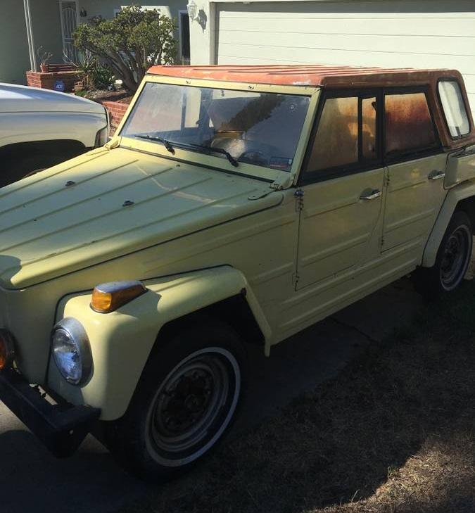 1974 VW Thing V4 Manual For Sale In Oceanside, California