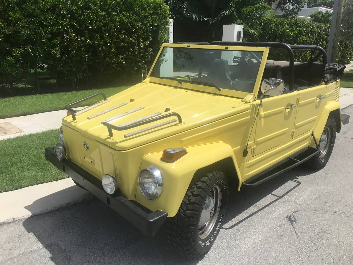1973 VW Thing 4cyl Manual For Sale in Miami Beach, Florida ...