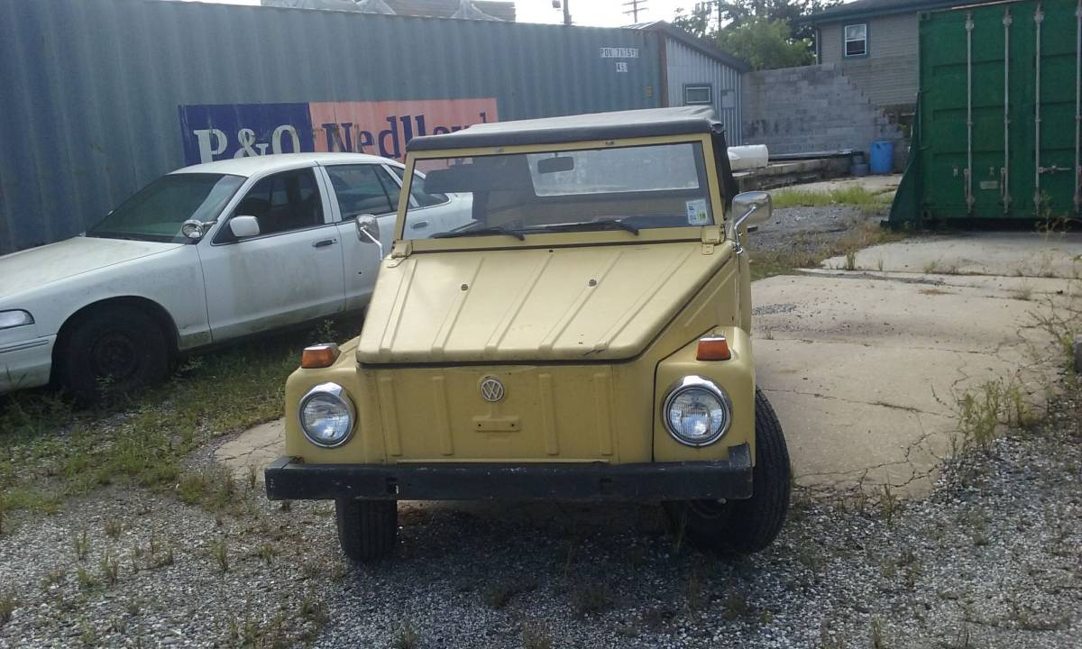 1974 VW Thing 4cyl Manual For Sale in New Orleans ...