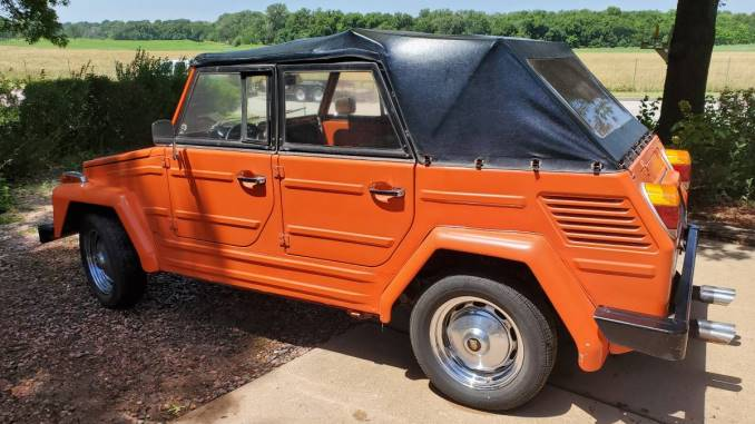 1973 VW Thing 1835cc Manual For Sale in Wichita, KS - $15,500