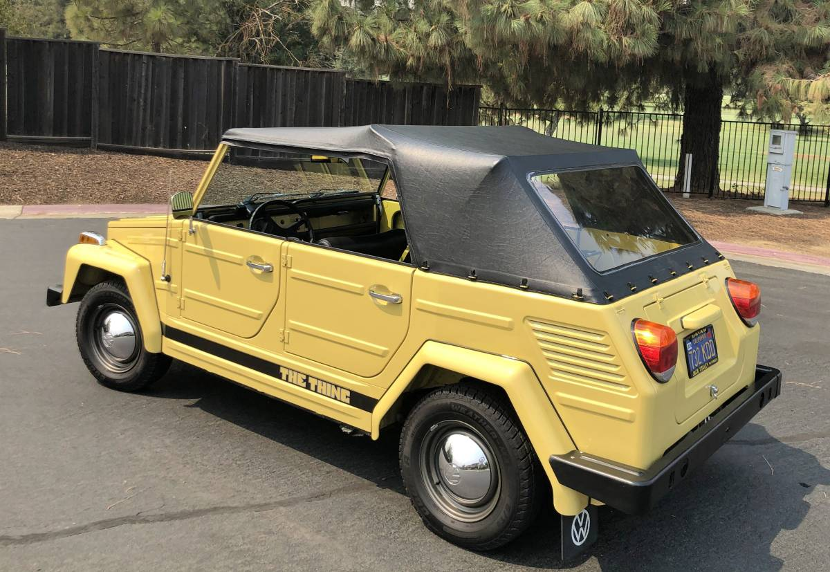 1973 VW Thing 4 Cylinder Manual For Sale in Woodland, CA ...