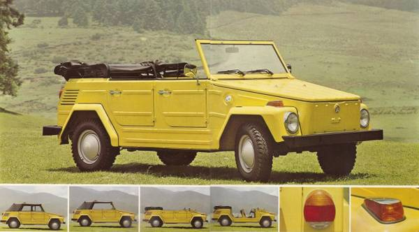 Craigslist Daytona Beach Florida >> 1973 VW Thing Convertible Car For Sale in Zanesville, Ohio ...