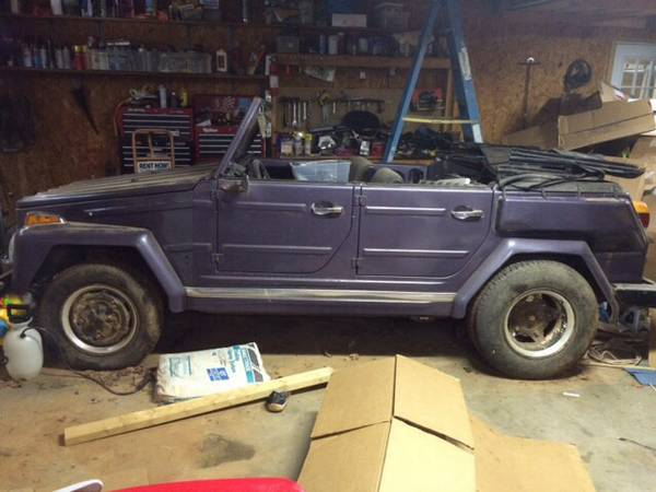 1973 VW Thing manual For Sale in Chattanooga, Tennessee - $3K