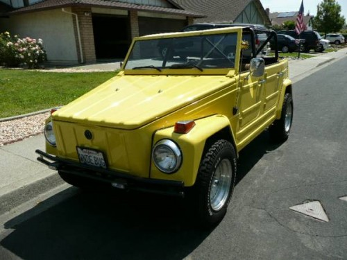 1973 VW Thing Convertible For Sale in Fairfield ...