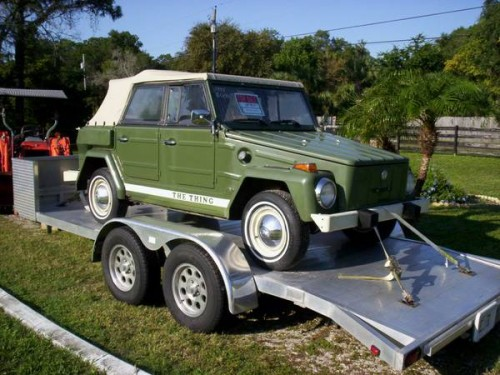 1974 VW Thing 1600CC 4 Speed Manual For Sale in DeLand ...