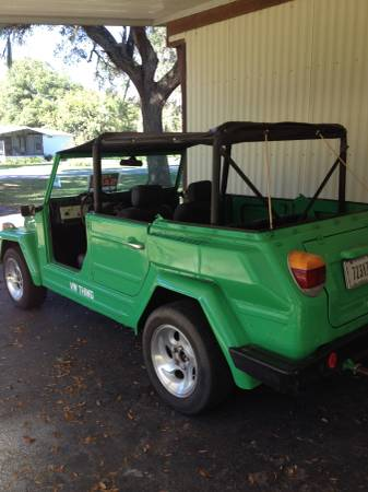 1974 VW Thing V4 Manual For Sale in Silver Springs ...