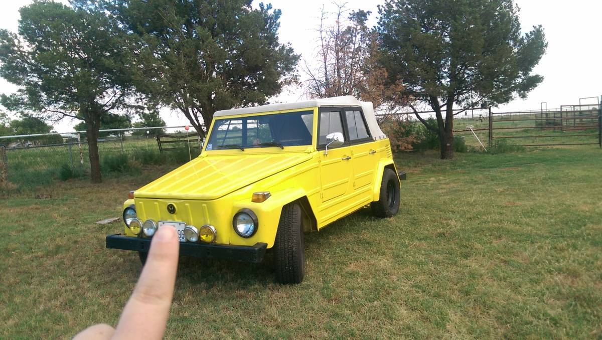 1973 VW Thing Manual For Sale in Clovis, New Mexico - $12K