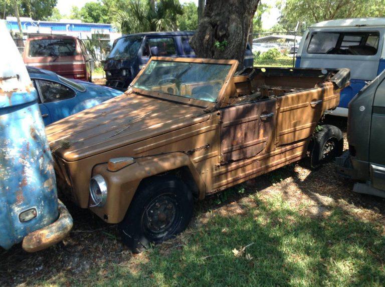 1974 VW Thing Salvage Manual For Sale in Sarasota, Florida ...