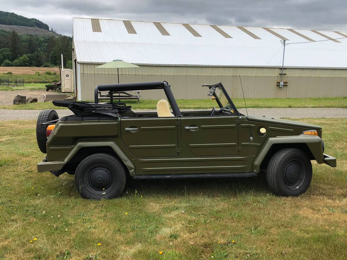 1974 VW Thing 4cyl Manual For Sale in Astoria, Oregon ...