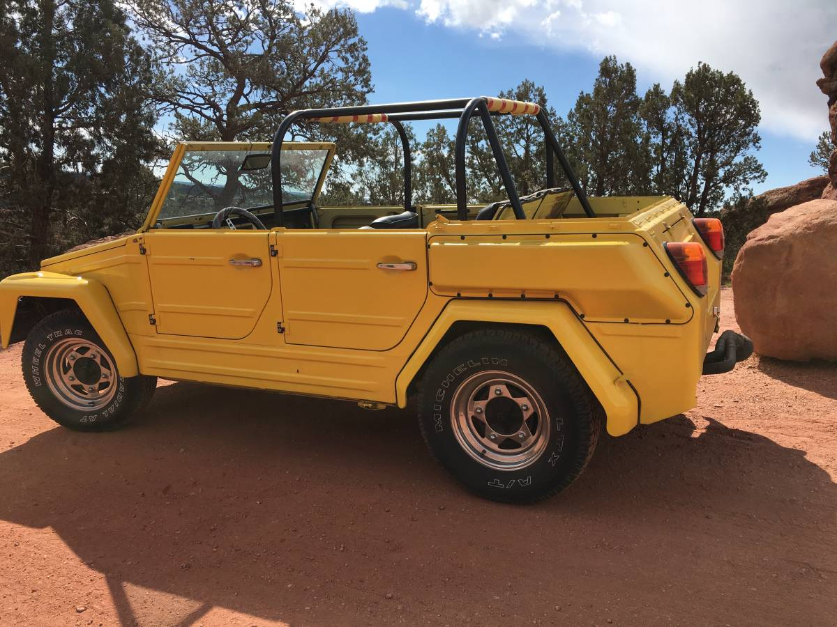 1974 VW Thing 4cyl Manual For Sale in Colorado Springs ...