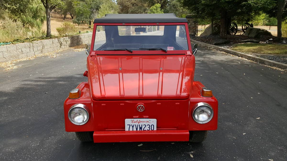 1973 VW Thing 4cyl Manual For Sale in Santa Cruz ...