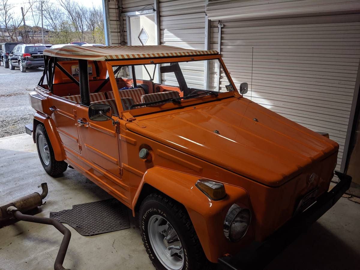 1974 VW Thing 4cyl Manual For Sale in Vandergrift ...