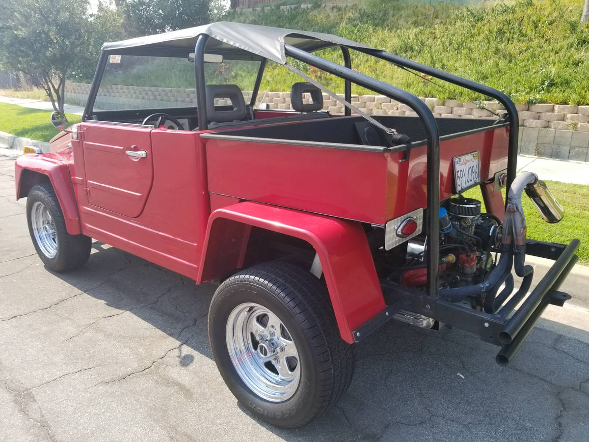 1974 VW Thing Custom w/ Roll Cage For Sale in Santa ...